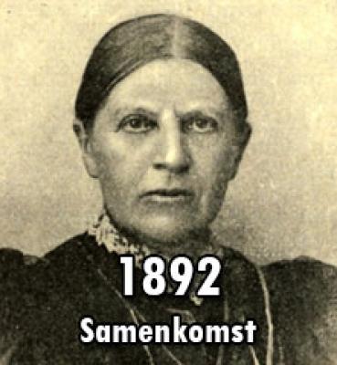 1892 – Samenkomst van Belangstellenden in Ziekenverpleging