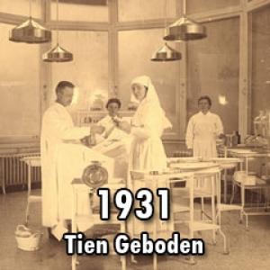 1931 – De tien geboden voor verplegenden van Zuster Melk