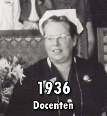 1936 – Docenten Verpleegkunde