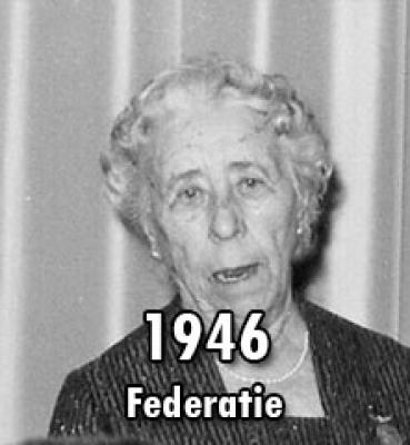 1946 – Een Federatie Nederlandsche Vereenigingen
