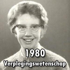 1980 – Verplegingswetenschap