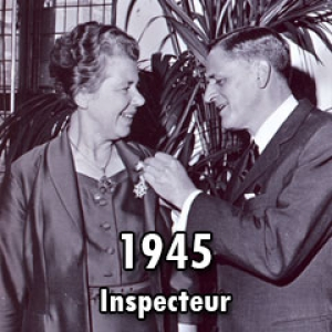 1945 – Eerste verpleegkundig inspecteur Fie Hooykaas
