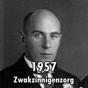 1957 – Opleiding zwakzinnigenzorg