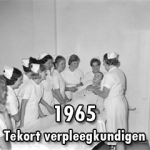 Jaren '60 – Tekort verpleegkundigen